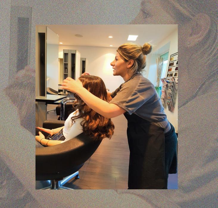 Styling Haare Fatma